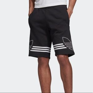 Adidas NWT Mens Outline Shorts